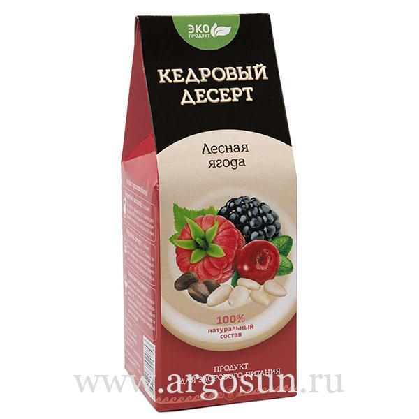Десерт кедровый Лесная ягода