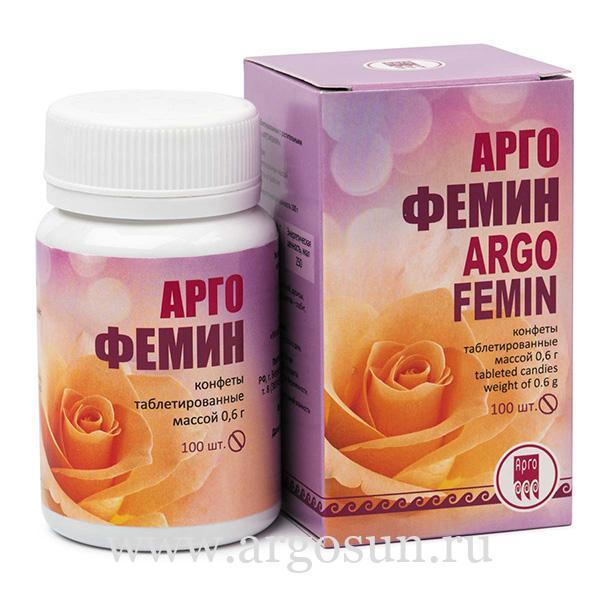 Конфеты Аргофемин